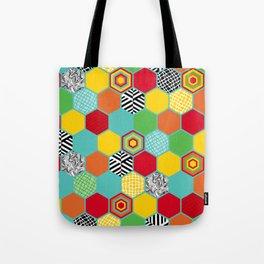 Titi Minin Hex_1 Tote Bag