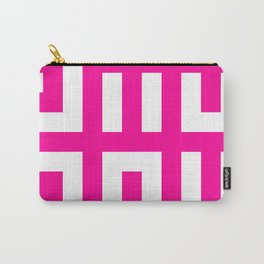 Licorice Bytes, No.20 in Black and Pink Carry-All Pouch