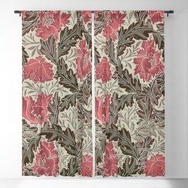 """William Morris """"Wreath""""(edited 4.) Blackout Curtain"""