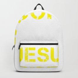 Jesus, Coffee & Republicans & 2020 Trump design Backpack