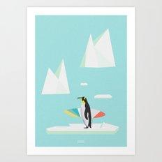 PINGVIN Art Print