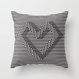 le coeur impossible (nº 1) Throw Pillow