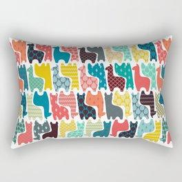 baby llamas Rectangular Pillow