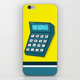 Mr Buttons iPhone Skin