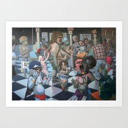 """Notrica 32st St Market"" Art Print"