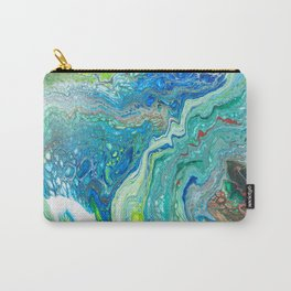 Mixed Ocean Carry-All Pouch