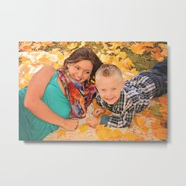 Family Shoot-Bree & Silas1 Metal Print