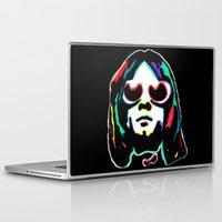 kurt cobain Laptop & iPad Skins featuring Kurt   by Butt Ugly Co