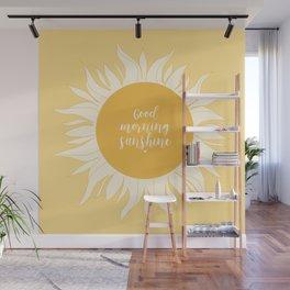 Good Morning Sunshine Wall Mural