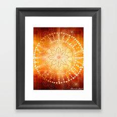 Svadishthana - Chakra 2 Framed Art Print