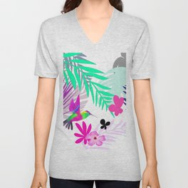 Full Exotic Unisex V-Neck