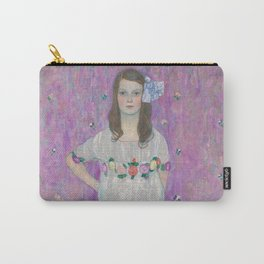 Mäda Primavesi by Gustav Klimt Carry-All Pouch