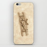 airplane iPhone & iPod Skins featuring Airplane by LaDa