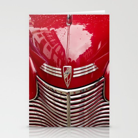red chevy Stationery Cards