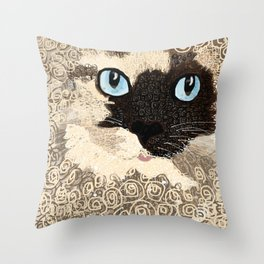 DuchessDoodle Throw Pillow
