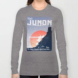 Final Fantasy VII - Visit Junon Propaganda Poster Long Sleeve T-shirt