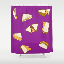 Grilled Cheese Shower Curtain