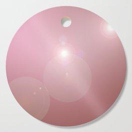 Pinkish Pastel Cutting Board