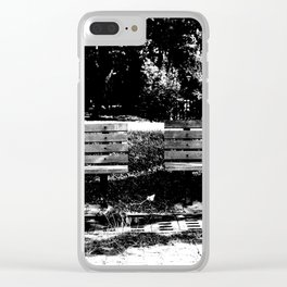 connection02 Clear iPhone Case