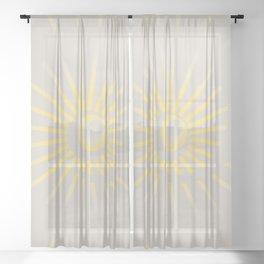 Sunshine / Sunbeam 2 Sheer Curtain