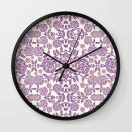 Floral #02-01 Wall Clock