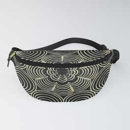 Antique Spiral Geometry Fanny Pack