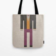 Retro Penguin Tote Bag