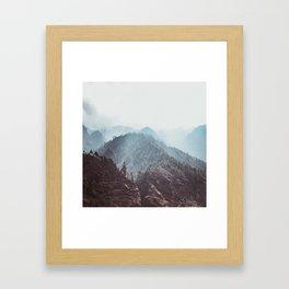 Nepal Series | Path to Namche, Himalayas Framed Art Print