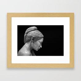 RK Sculpture Framed Art Print