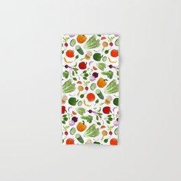 BG - Mixed salad Hand & Bath Towel