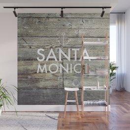 Santa Monica Pier Wall Mural