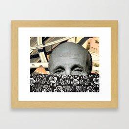 Highways of his Mind Framed Art Print