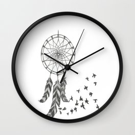 Catch my dreams Wall Clock