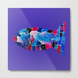 Fish IV Metal Print