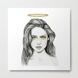 Angel Face Metal Print