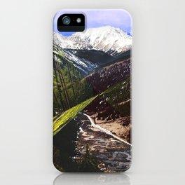 ASPEN DIAMONDS iPhone Case