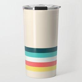 Candy Retro Stripe Travel Mug