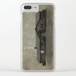Late Night Clear iPhone Case