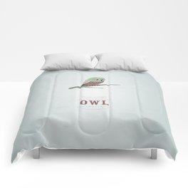 My little Owl Comforters