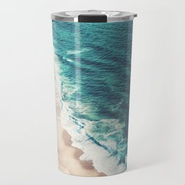 Beach Nazare Travel Mug