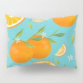 Teal Clementine Pillow Sham
