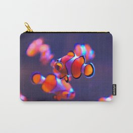 Spectacular Amazing Group Of Super Cute Clown Fish HD Carry-All Pouch