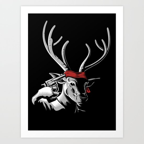 The Deer Hunter Art Print