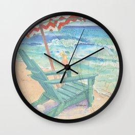 Happy Place / Anna Maria Island Wall Clock