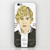 ahs iPhone & iPod Skins featuring Kyle AHS by Mia Storm