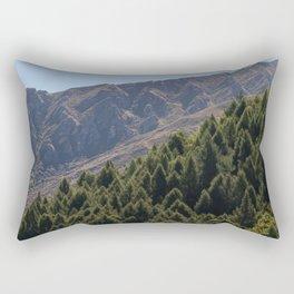Mountain Pattern Rectangular Pillow