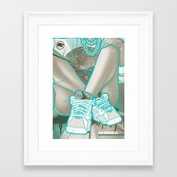 air jordan Framed Art Prints featuring Air Jordan VII by Maurice Creative