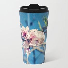 Nectarine Blossoms Travel Mug
