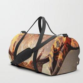 Internal flame Duffle Bag