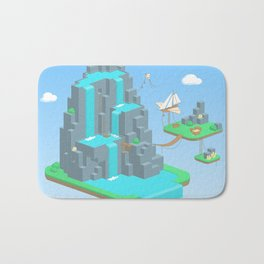 Crystal Mountain Bath Mat